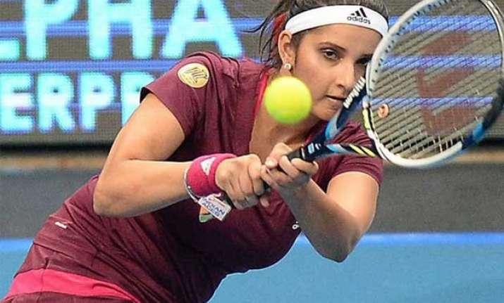 sania mirza scores two victories at australian open