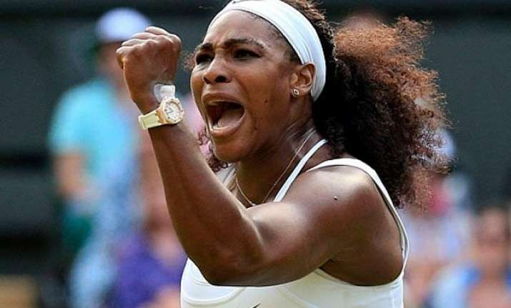 serena williams storms into seventh australian open final