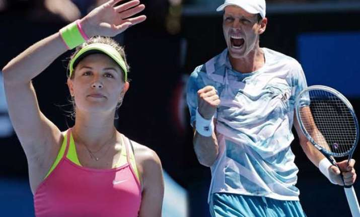 australian open 2015 no 7s bouchard berdych reach 4th round