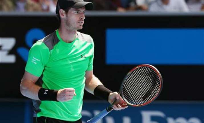 australian open 2015 andy murray advances to third round