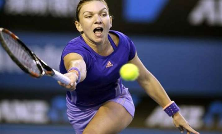 australian open 2015 halep through to quarterfinals