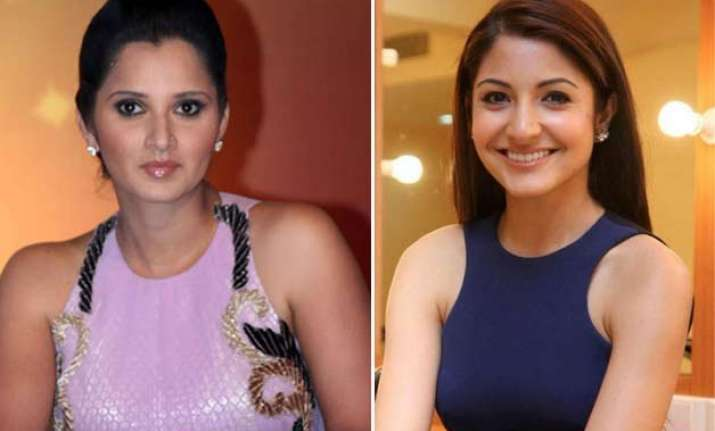 sania mirza defends anushka after twitteratis target her
