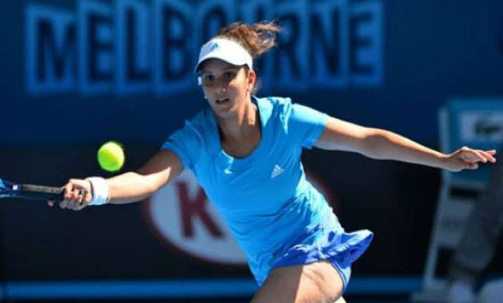 australian open 2015 sania paes make it all win day for