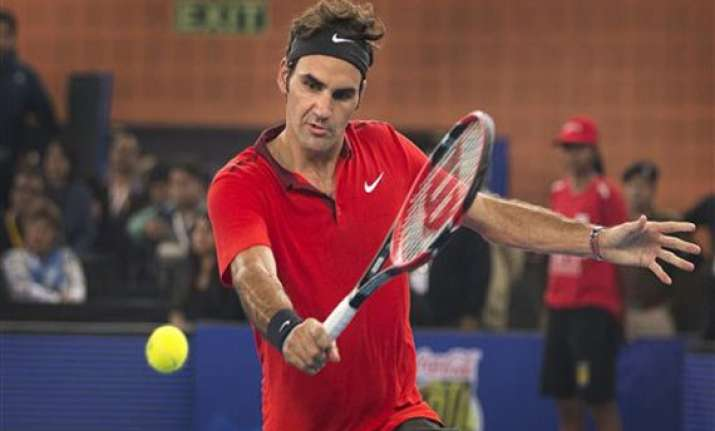 iptl watching federer others a dream for indian tennis fans