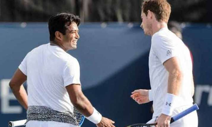 leander paes andy murray ousted from montreal tennis tourney
