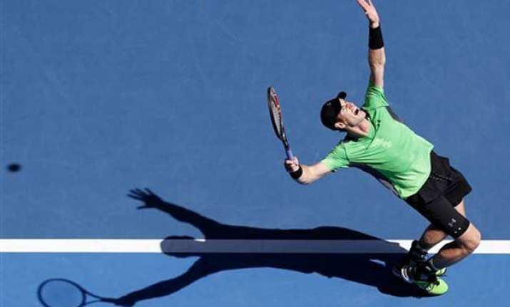 australian open 2015 murray eases into 4th round with win