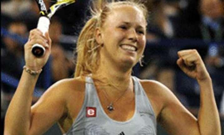 wozniacki to meet jankovic in indian wells final