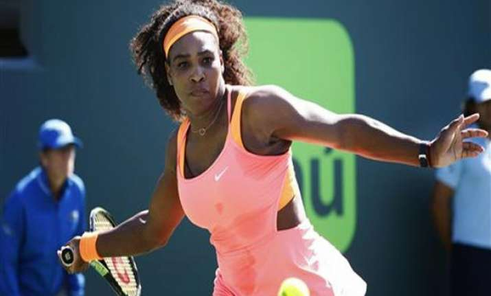 serena williams beats 15 year old at miami open nadal loses