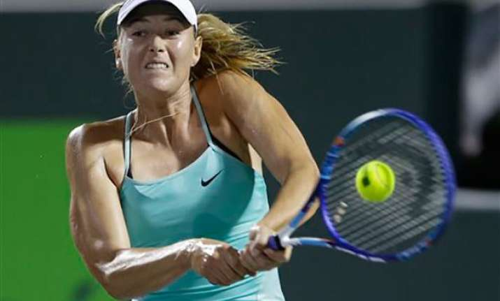 sharapova pulls out of russia fed cup clash with germany