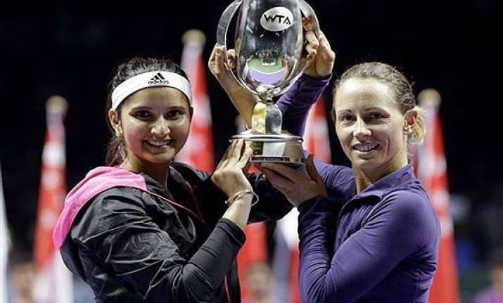 wta finals sania cara win doubles title
