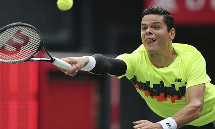 top seeded raonic eliminated at kremlin cup