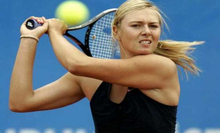 maria sharapova wants to stay focussed on tennis
