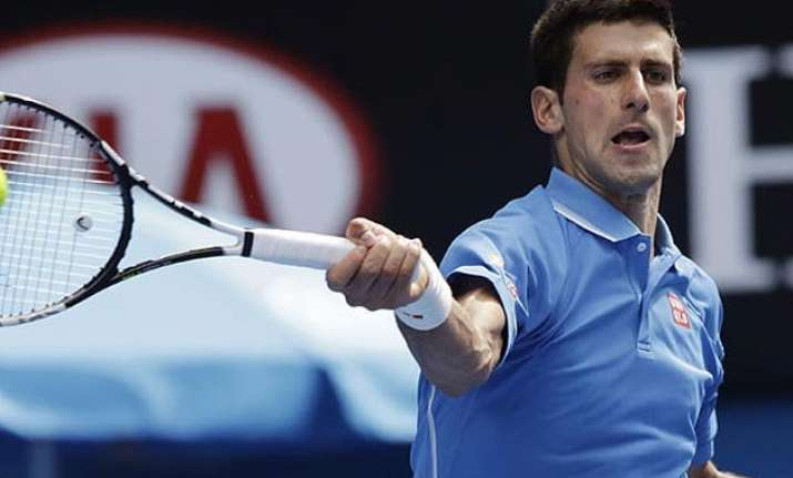 top ranked novak djokovic advances at dubai championships