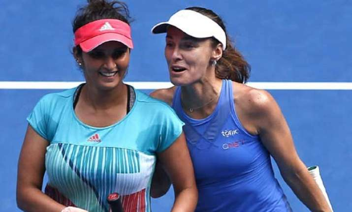 sania hingis 41 match winning streak comes to a halt