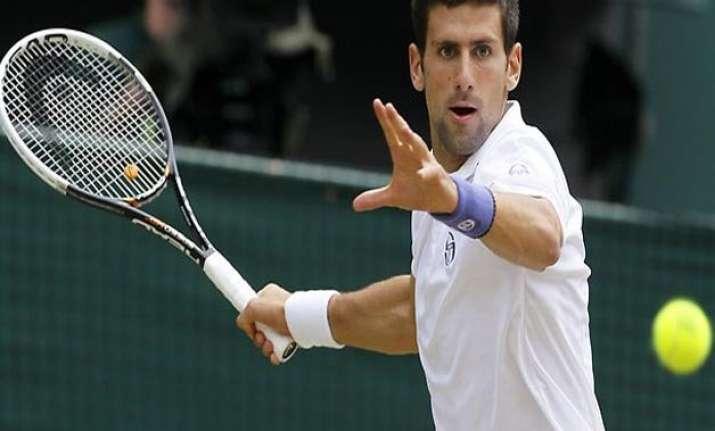 novak djokovic remains on top of association of tennis