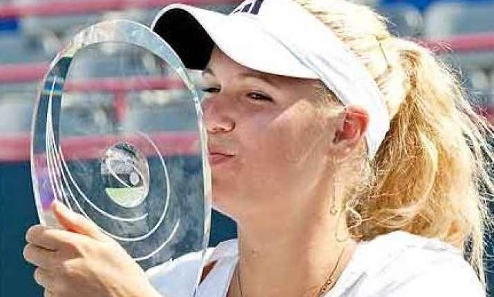 wozniacki beats zvonareva to win rogers cup