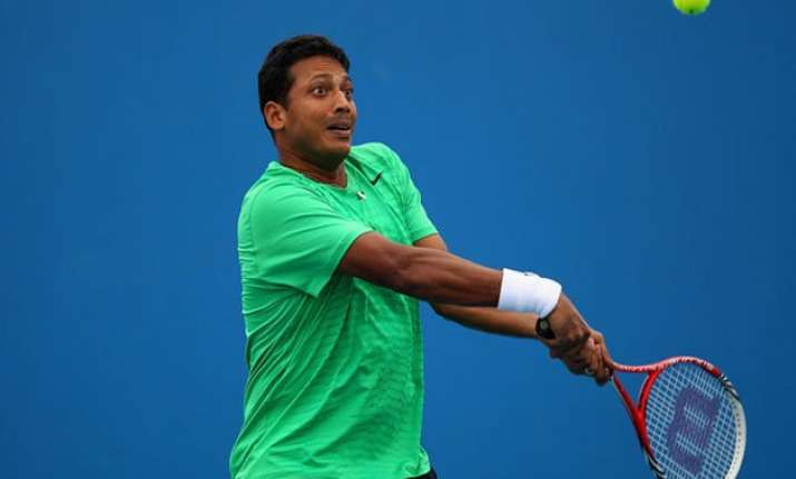 australia open 2015 bhupathi out of mixed doubles