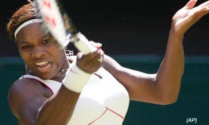 serena williams wins opening match at wimbledon