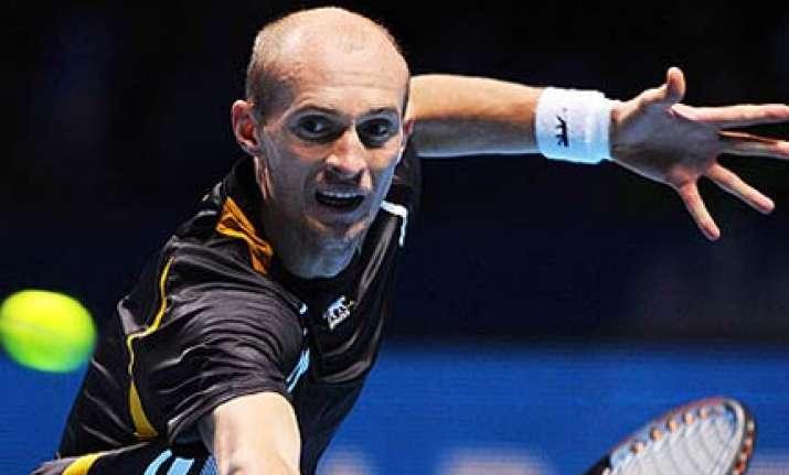davydenko downs del potro for world tour finals crown