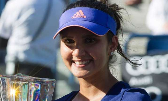sania mirza is now world number three in doubles