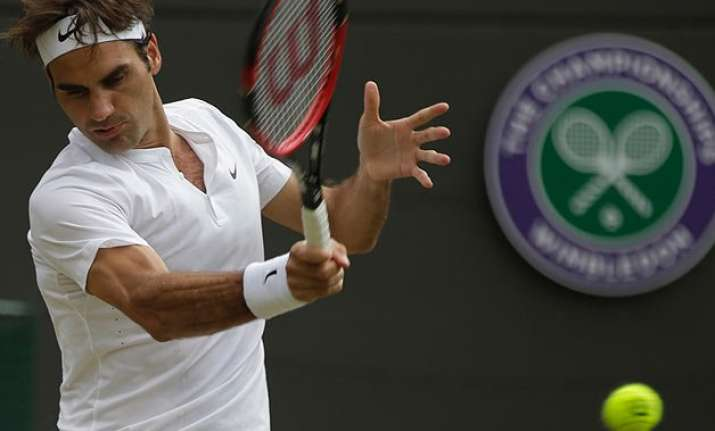 roger federer sails into wimbledon semifinals for 10th time