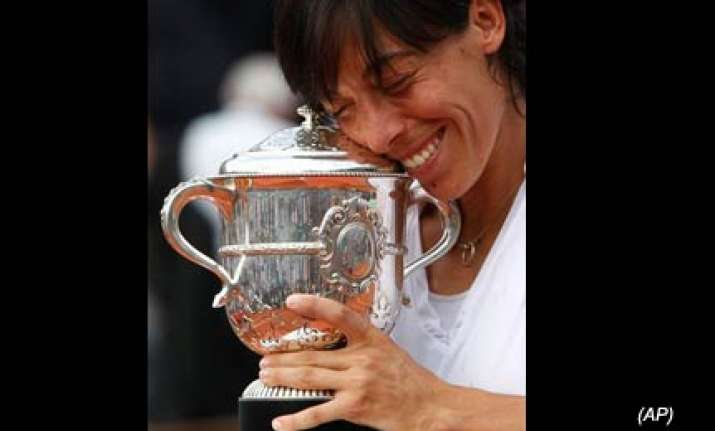 italian schiavone wins french open women s title