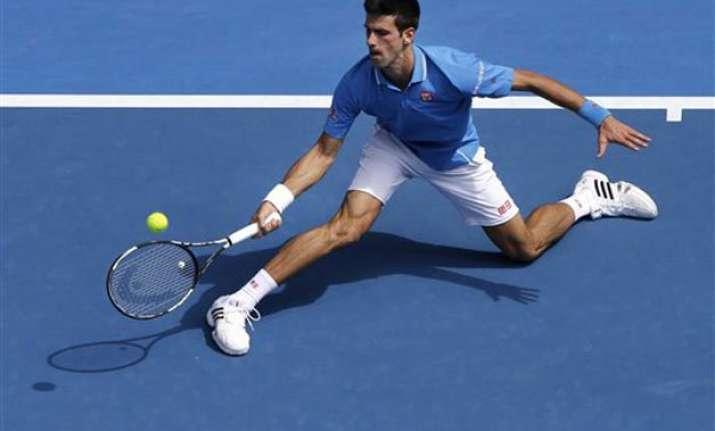 novak djokovic wins 1st round match at australian open