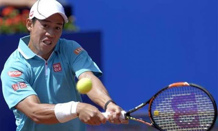 nishikori ferrer advance to barcelona open semifinals