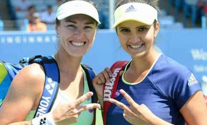 bopanna paes bow out sania mirza saves the day for indians
