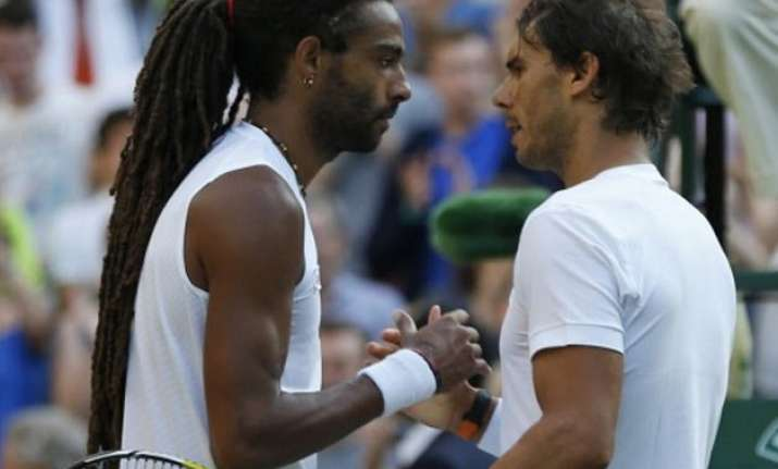 rafael nadal ousted by dustin brown in 2nd round at