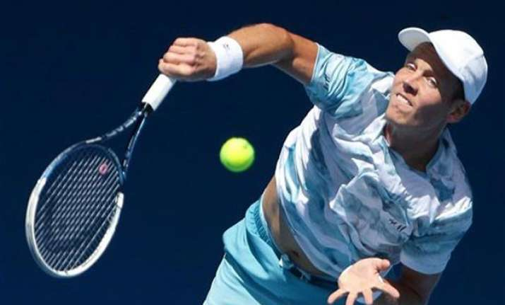 australian open 2015 berdych first man into 4th round