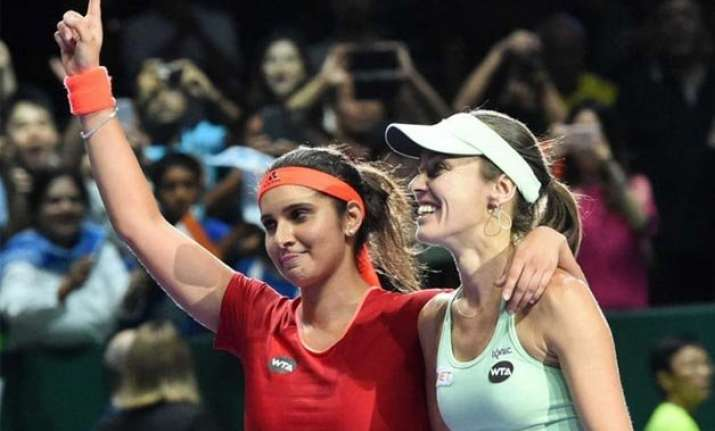 sania martina win sydney international