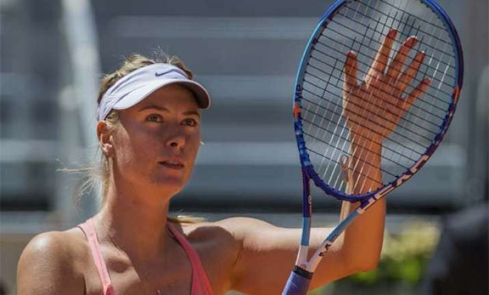 maria sharapova advances to 3rd round of madrid open