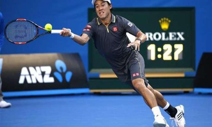 australian open 2015 kei nishikori advances to 4th round