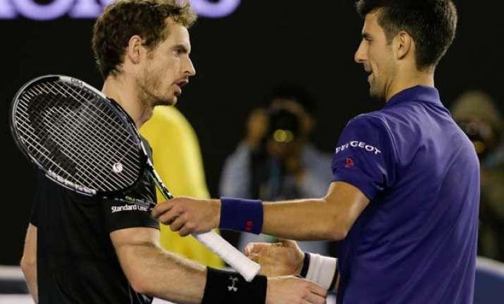 djokovic wins 6th australian title murray loses 5th final