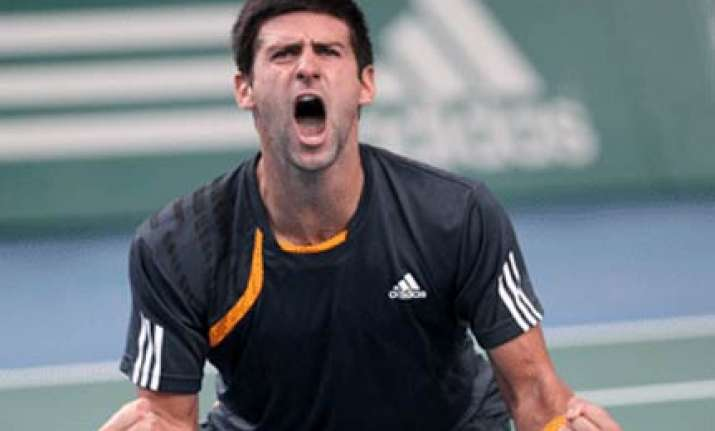 djokovic wins paris masters title