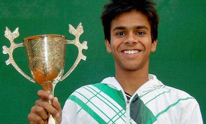sumit nagal reaches wimbledon boys doubles final