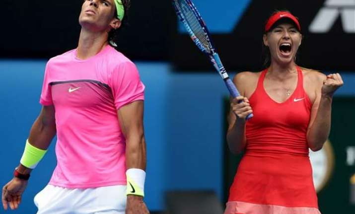australian open 2015 nadal out sharapova makarova advance