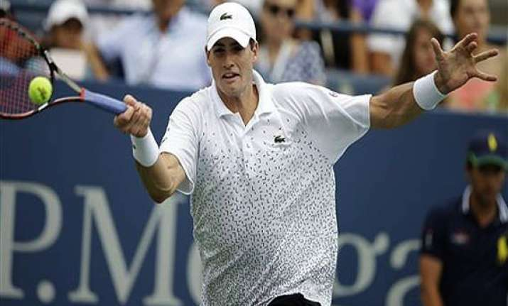 us open isner loses to kohlschreiber in 3rd round