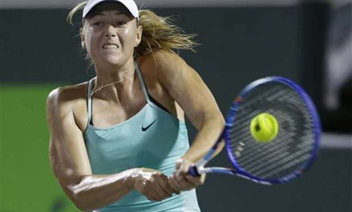 maria sharapova to play for russia in fed cup against