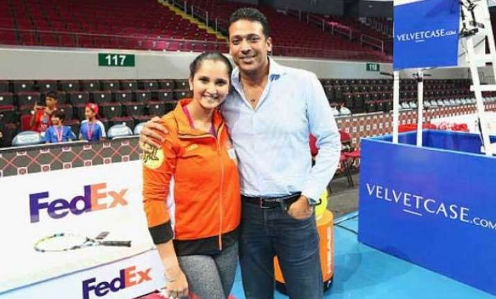 bhupathi sania to play paes navratilova in tennis masters