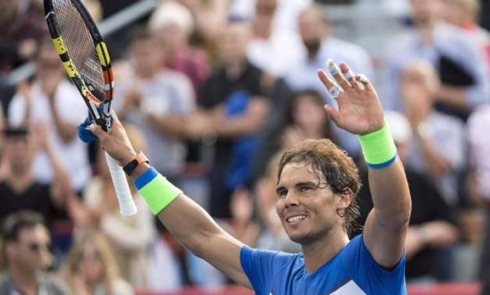 rafael nadal advances to third round of montreal masters