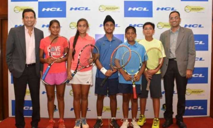 hcl announces inter school tennis tournament in delhi ncr