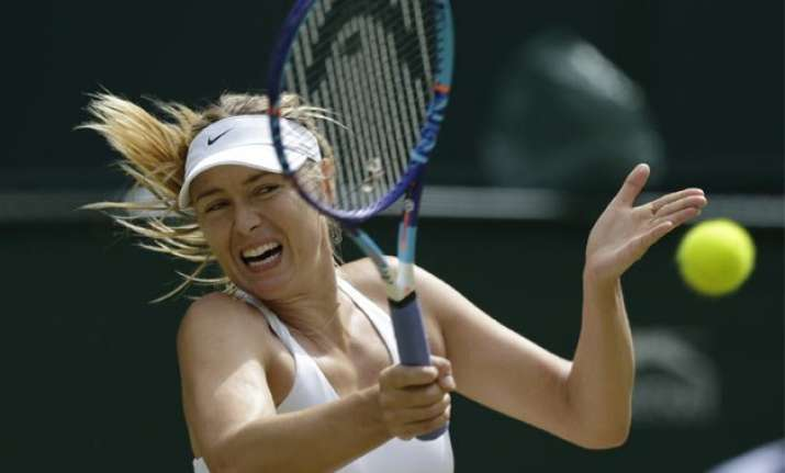maria sharapova tries to end serena williams streak
