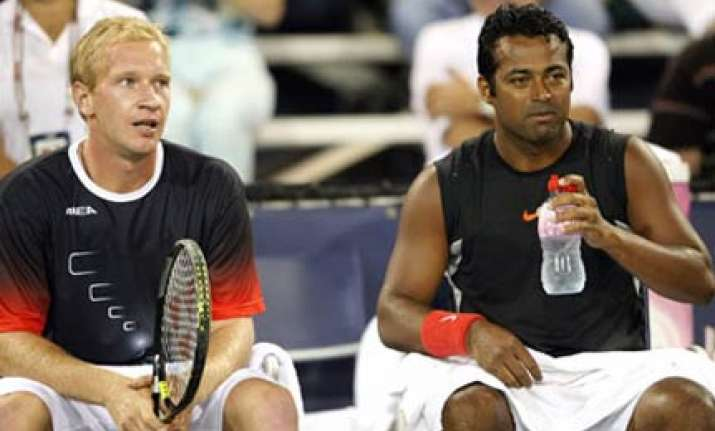 paes dlouhy lose in french open final
