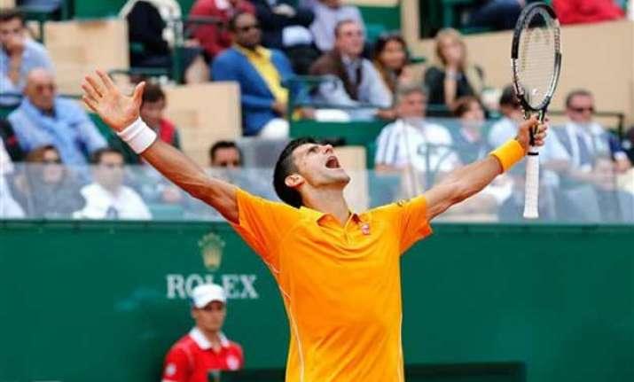 djokovic downs nadal to reach monte carlo masters final
