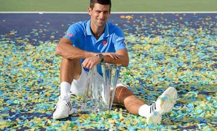 djokovic beats federer in 3 sets to win indian wells title