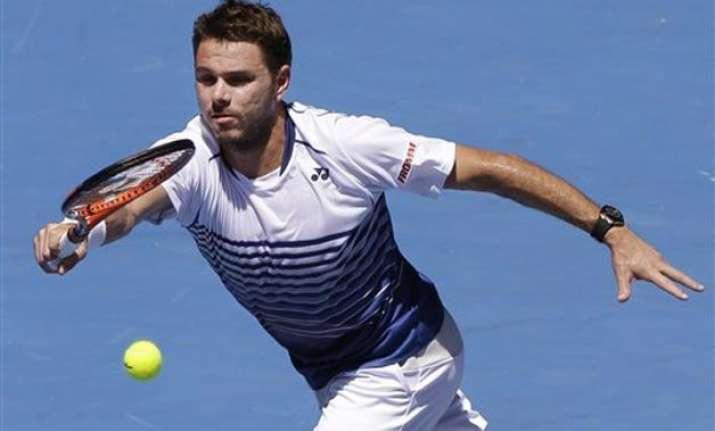 defending champion wawrinka into australian open 3rd round