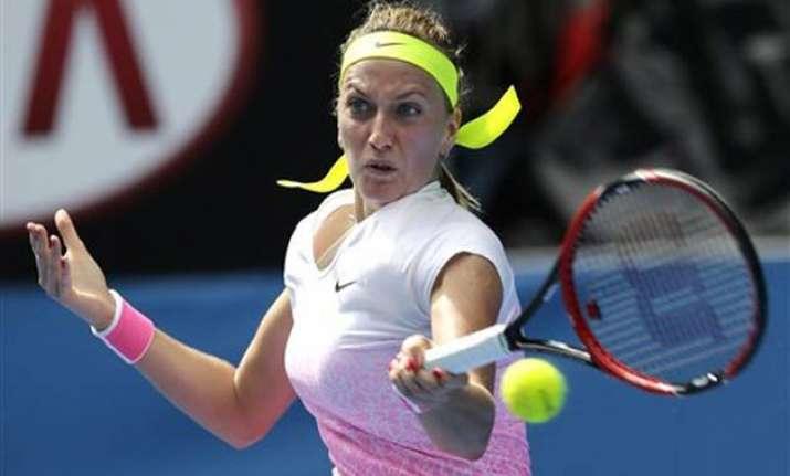 wimbledon champ kvitova wins 1st rounder at australian open