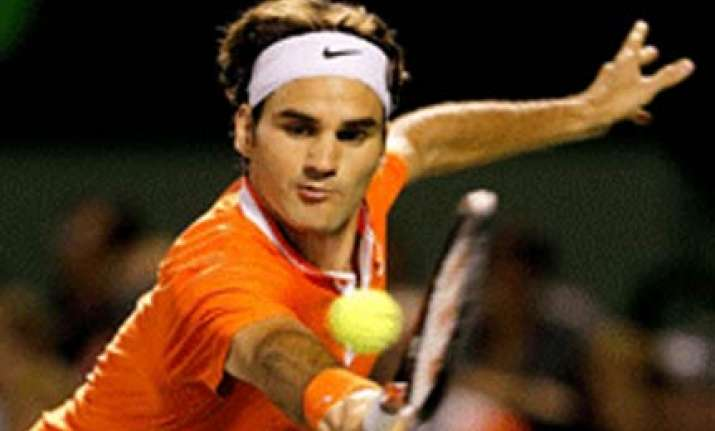 federer through in opening round murray crashes out
